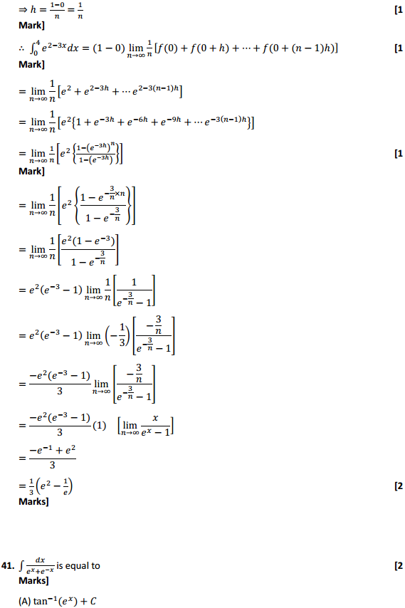 NCERT Solutions for Class 12 Maths Chapter 7 Integrals Miscellaneous Exercise 32