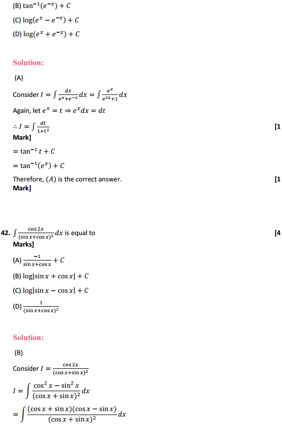 NCERT Solutions for Class 12 Maths Chapter 7 Integrals Miscellaneous Exercise 33