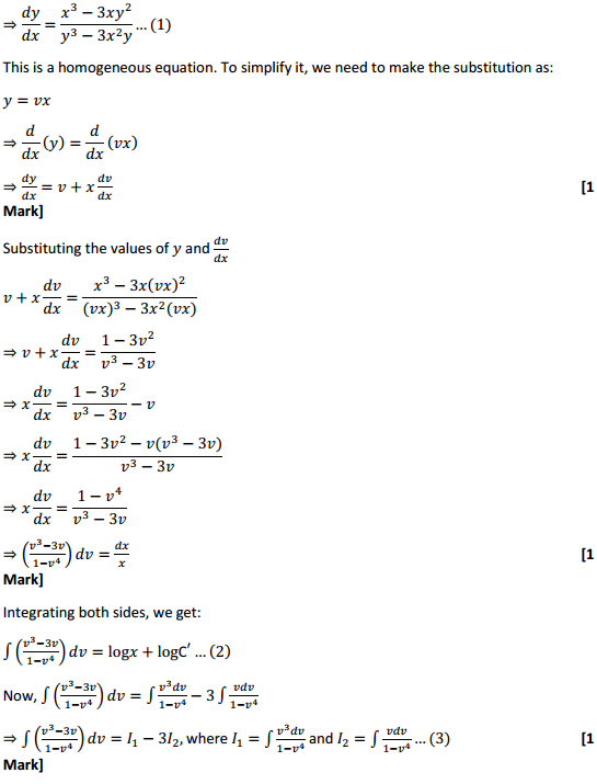 NCERT Solutions for Class 12 Maths Chapter 9 Differential Equations Miscellaneous Exercise 11
