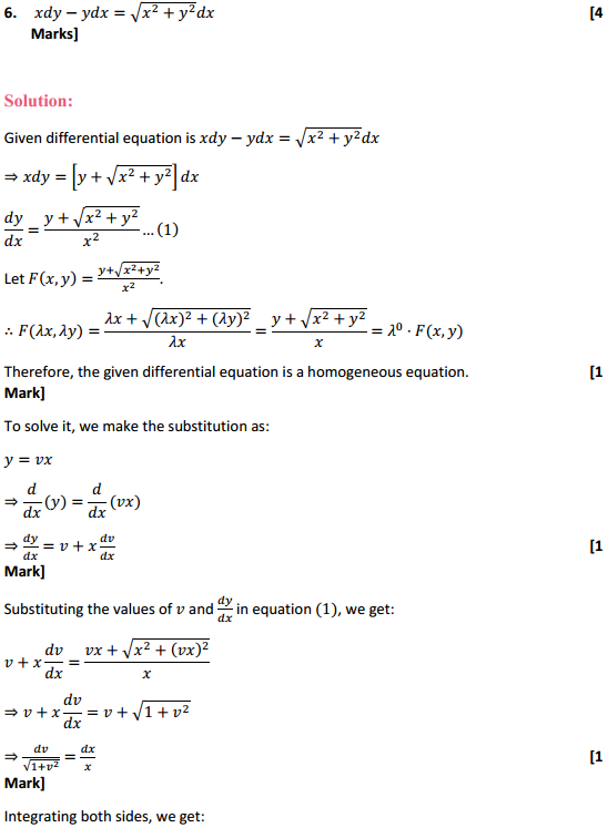 NCERT Solutions for Class 12 Maths Chapter 9 Differential Equations Ex 9.5 11