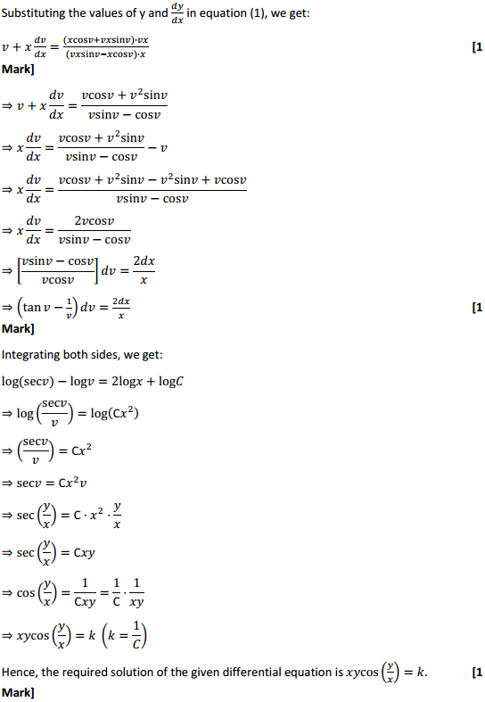 NCERT Solutions for Class 12 Maths Chapter 9 Differential Equations Ex 9.5 14