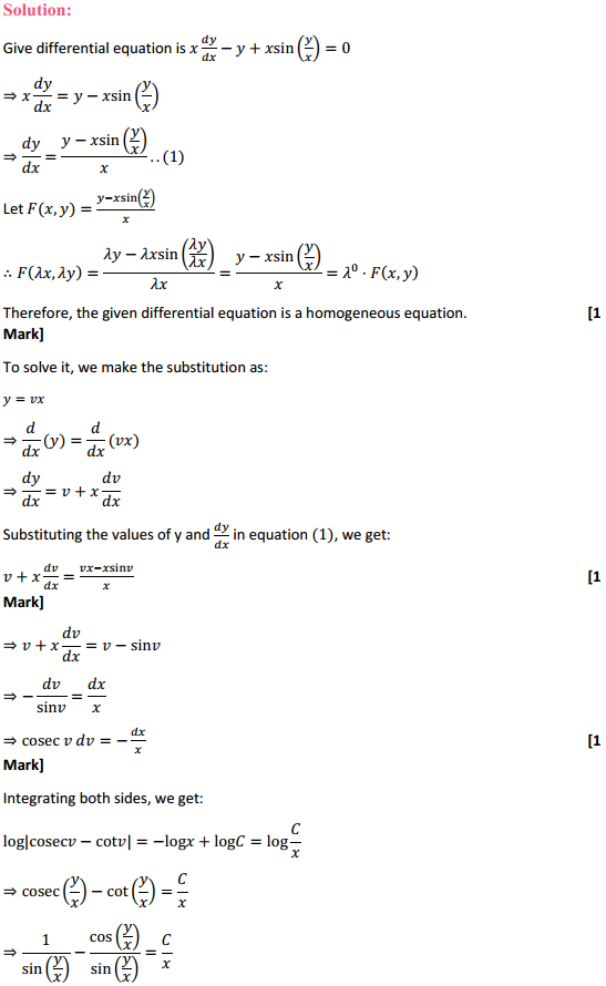 NCERT Solutions for Class 12 Maths Chapter 9 Differential Equations Ex 9.5 16