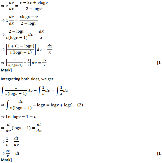 NCERT Solutions for Class 12 Maths Chapter 9 Differential Equations Ex 9.5 19