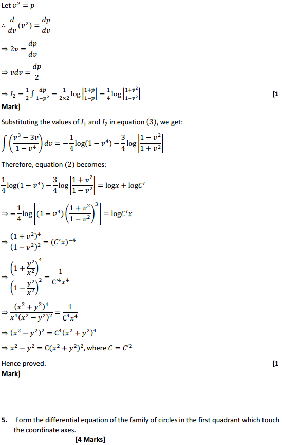 NCERT Solutions for Class 12 Maths Chapter 9 Differential Equations Miscellaneous Exercise 13