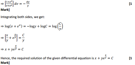 NCERT Solutions for Class 12 Maths Chapter 9 Differential Equations Ex 9.5 22