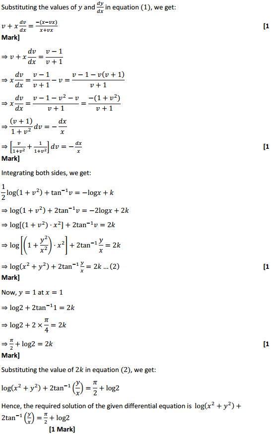 NCERT Solutions for Class 12 Maths Chapter 9 Differential Equations Ex 9.5 24