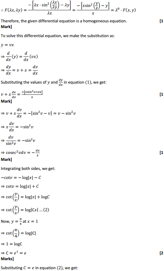 NCERT Solutions for Class 12 Maths Chapter 9 Differential Equations Ex 9.5 27