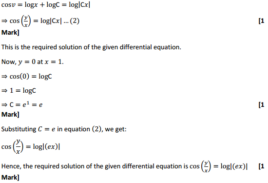 NCERT Solutions for Class 12 Maths Chapter 9 Differential Equations Ex 9.5 29