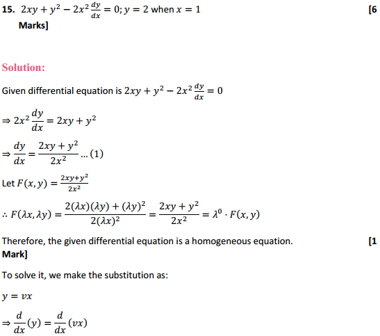 NCERT Solutions for Class 12 Maths Chapter 9 Differential Equations Ex 9.5 30