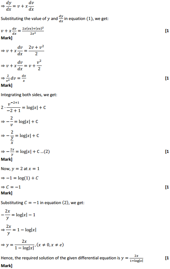NCERT Solutions for Class 12 Maths Chapter 9 Differential Equations Ex 9.5 31