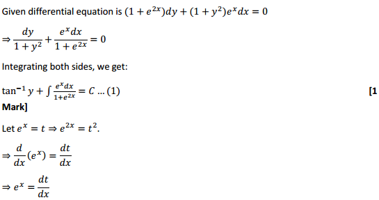 NCERT Solutions for Class 12 Maths Chapter 9 Differential Equations Miscellaneous Exercise 19
