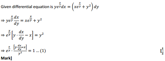 NCERT Solutions for Class 12 Maths Chapter 9 Differential Equations Miscellaneous Exercise 21