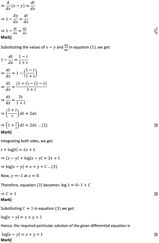 NCERT Solutions for Class 12 Maths Chapter 9 Differential Equations Miscellaneous Exercise 24