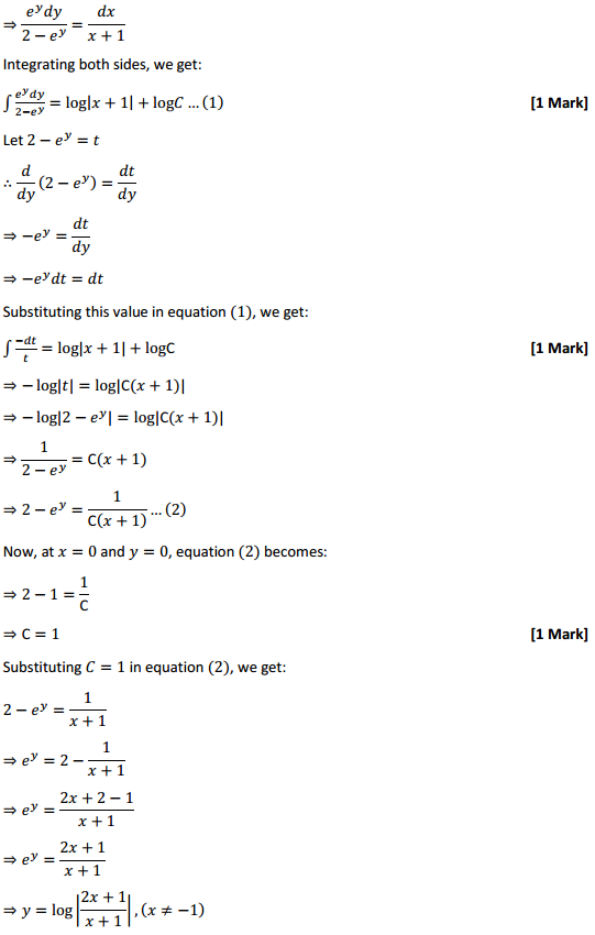 NCERT Solutions for Class 12 Maths Chapter 9 Differential Equations Miscellaneous Exercise 29