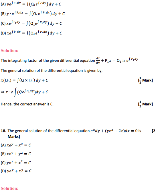 NCERT Solutions for Class 12 Maths Chapter 9 Differential Equations Miscellaneous Exercise 34