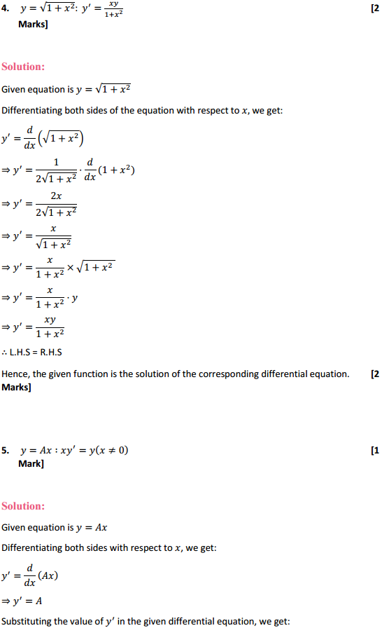 NCERT Solutions for Class 12 Maths Chapter 9 Differential Equations Ex 9.2 3