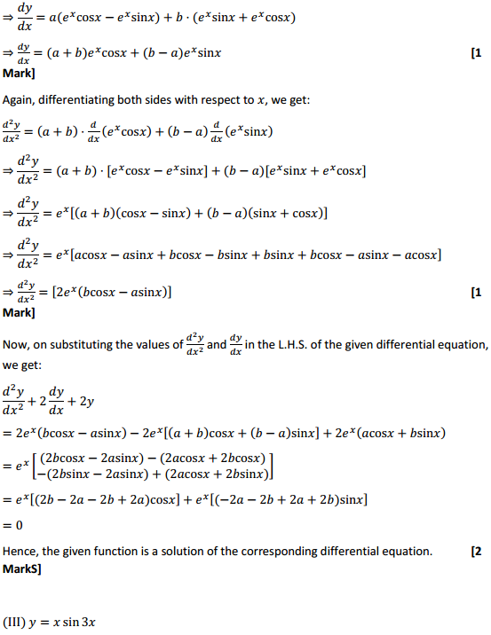 NCERT Solutions for Class 12 Maths Chapter 9 Differential Equations Miscellaneous Exercise 6