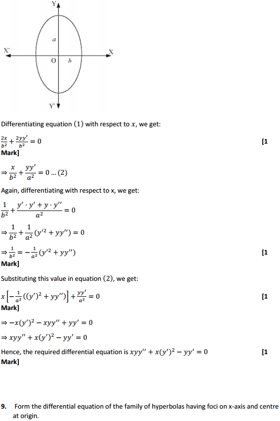 NCERT Solutions for Class 12 Maths Chapter 9 Differential Equations Ex 9.3 8