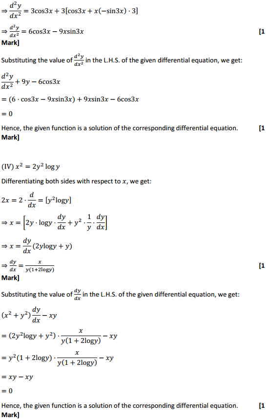 NCERT Solutions for Class 12 Maths Chapter 9 Differential Equations Miscellaneous Exercise 8