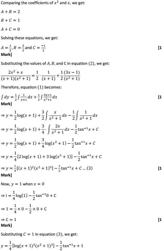 NCERT Solutions for Class 12 Maths Chapter 9 Differential Equations Ex 9.4 11