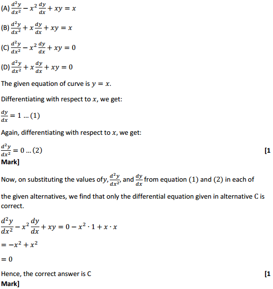 NCERT Solutions for Class 12 Maths Chapter 9 Differential Equations Ex 9.3 12