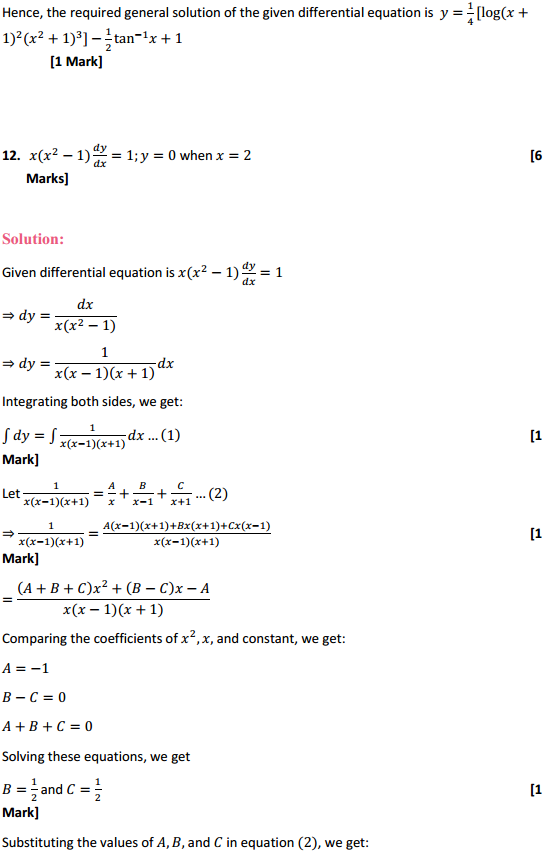 NCERT Solutions for Class 12 Maths Chapter 9 Differential Equations Ex 9.4 12