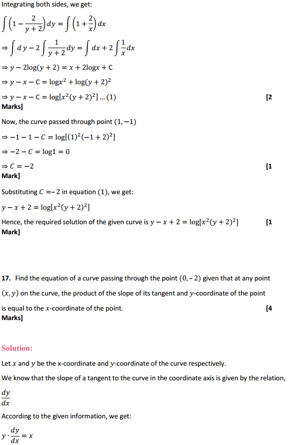 NCERT Solutions for Class 12 Maths Chapter 9 Differential Equations Ex 9.4 17