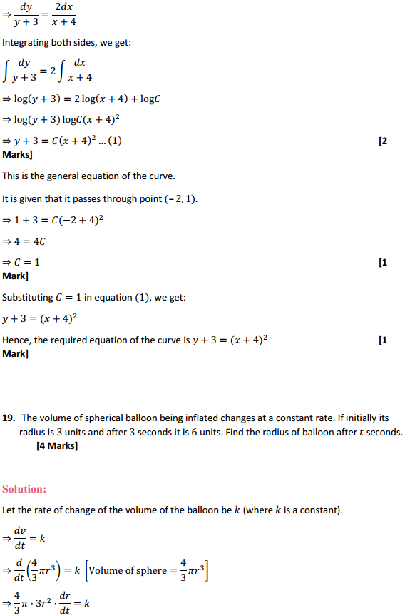 NCERT Solutions for Class 12 Maths Chapter 9 Differential Equations Ex 9.4 19