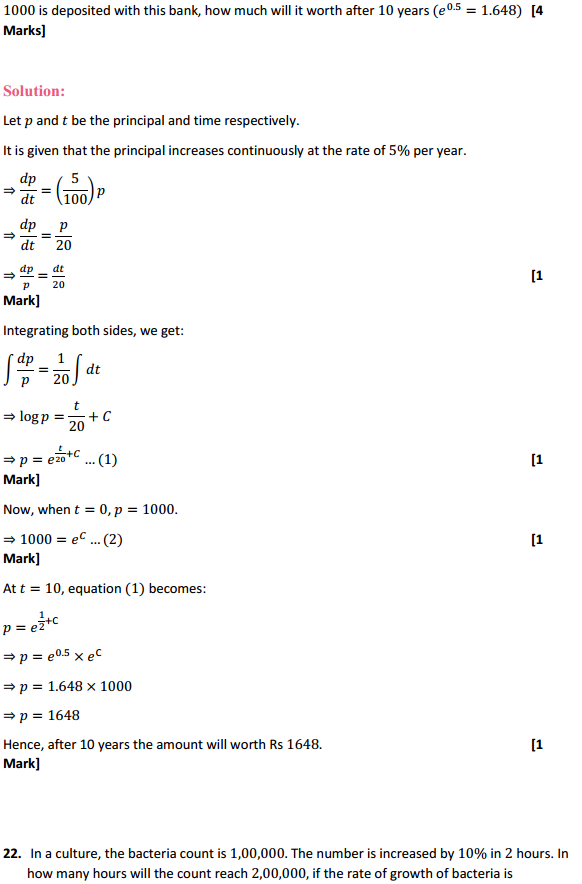 NCERT Solutions for Class 12 Maths Chapter 9 Differential Equations Ex 9.4 22