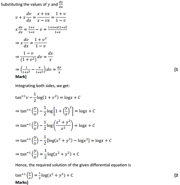 NCERT Solutions for Class 12 Maths Chapter 9 Differential Equations Ex 9.5 5