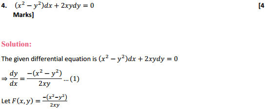 NCERT Solutions for Class 12 Maths Chapter 9 Differential Equations Ex 9.5 6