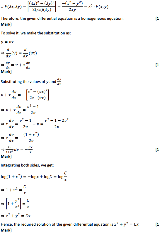NCERT Solutions for Class 12 Maths Chapter 9 Differential Equations Ex 9.5 7