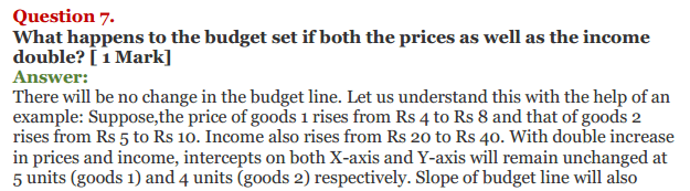 NCERT Solutions for Class 12 Micro Economics Chapter 2 Consumer Equilibrium 3