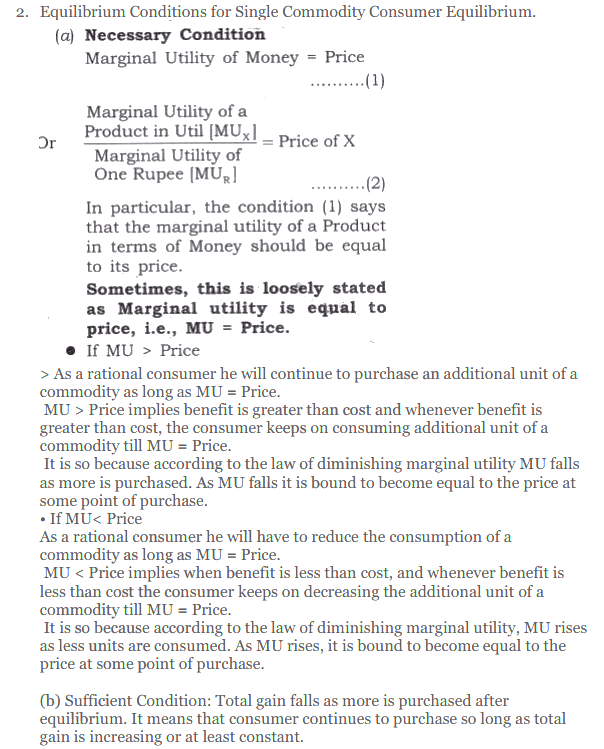 NCERT Solutions for Class 12 Micro Economics Chapter 2 Consumer Equilibrium 37