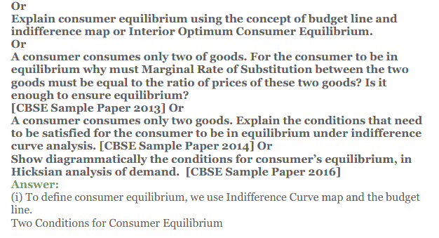 NCERT Solutions for Class 12 Micro Economics Chapter 2 Consumer Equilibrium 41