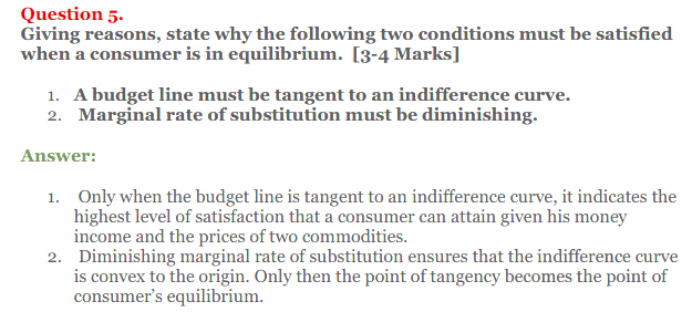 NCERT Solutions for Class 12 Micro Economics Chapter 2 Consumer Equilibrium 51