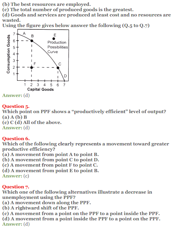 NCERT Solutions for Class 12 Micro Economics Chapter 1 Introduction to Economics 11