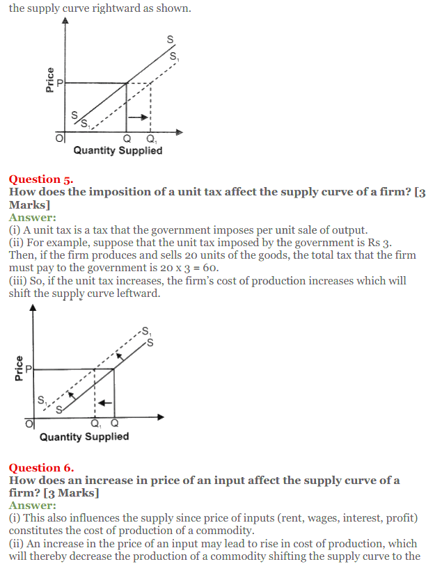NCERT Solutions for Class 12 Micro Economics Chapter 7 Supply 4