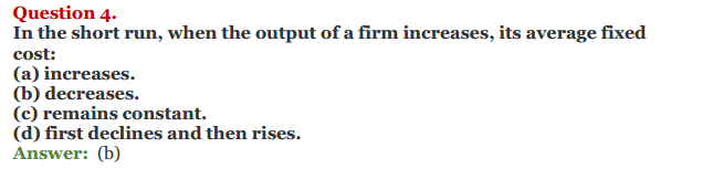 NCERT Solutions for Class 12 Micro Economics Chapter 6 Cost 13