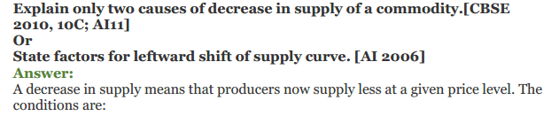 NCERT Solutions for Class 12 Micro Economics Chapter 7 Supply 21