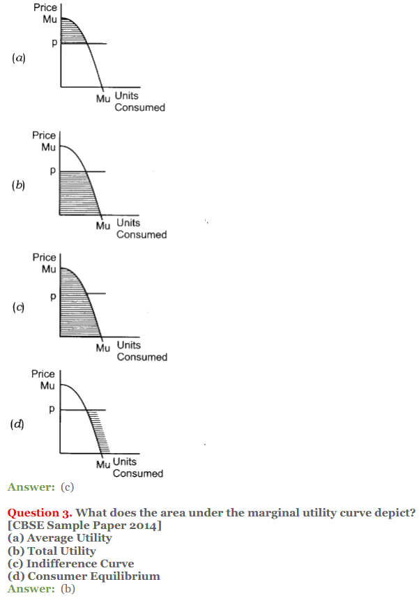 NCERT Solutions for Class 12 Micro Economics Chapter 2 Consumer Equilibrium 11