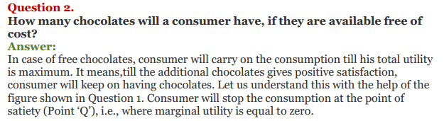 NCERT Solutions for Class 12 Micro Economics Chapter 2 Consumer Equilibrium 18
