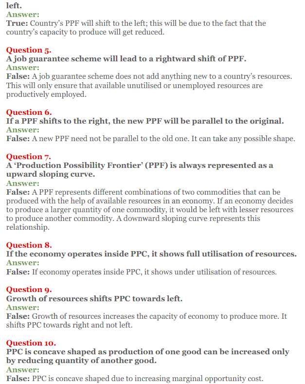 NCERT Solutions for Class 12 Micro Economics Chapter 1 Introduction to Economics 26