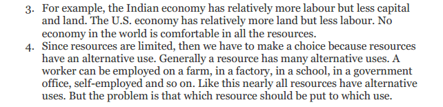 NCERT Solutions for Class 12 Micro Economics Chapter 1 Introduction to Economics 29