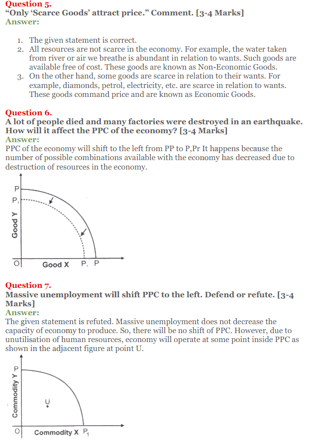 NCERT Solutions for Class 12 Micro Economics Chapter 1 Introduction to Economics 30