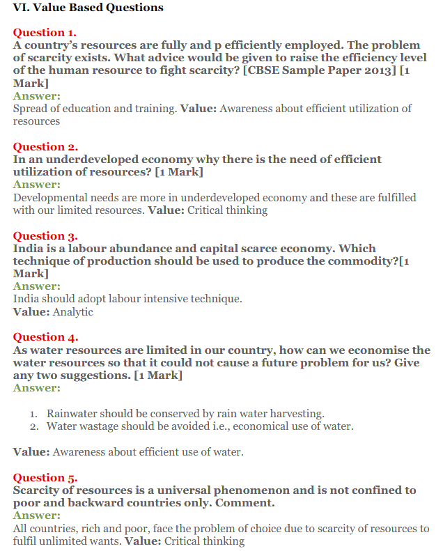 NCERT Solutions for Class 12 Micro Economics Chapter 1 Introduction to Economics 31