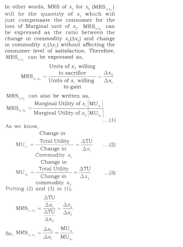 NCERT Solutions for Class 12 Micro Economics Chapter 2 Consumer Equilibrium 27