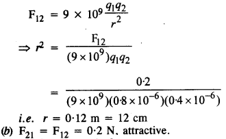 NCERT Solutions for Class 12 Physics Chapter 1 Electric Charges and Fields 2