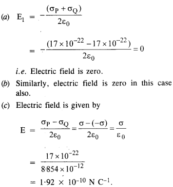 NCERT Solutions for Class 12 Physics Chapter 1 Electric Charges and Fields 22