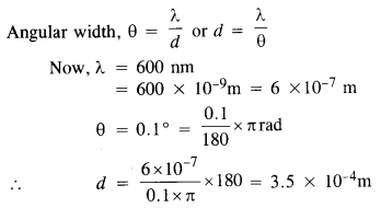 NCERT Solutions for Class 12 Physics Chapter 10 Wave Optics 12